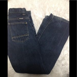 Boy's size 12 slim WRANGLER adjustable waist jeans